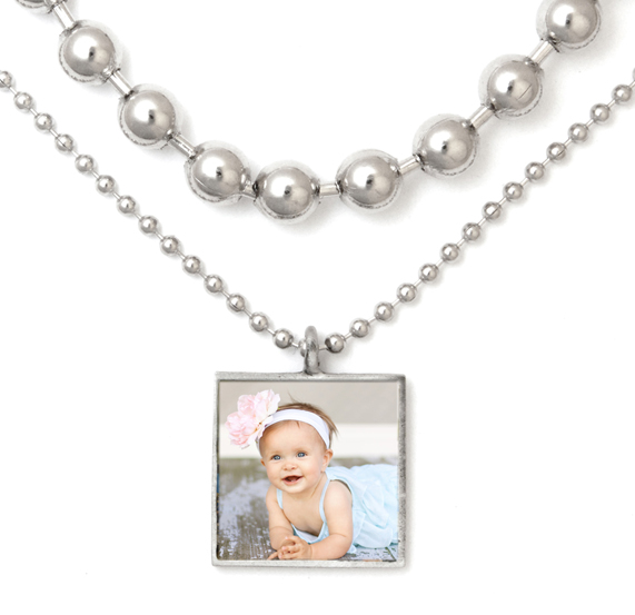 Madelyn Photo Charm Necklace